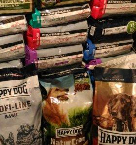 Сухой корм для собак, большие мешки