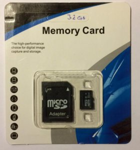Карта памяти microSD 32 Gb