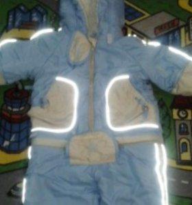 Весенний Комбез Куртка, брюки и конверт с 0-3 лет,