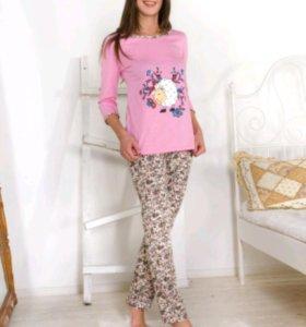 Новая Пижама-костюм размер 46