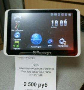 GPS навигатор+видеорегистратор Prestigio