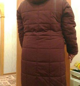 Пальто зимнее.52 размер.