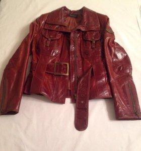 Кожаная куртка, р-р 42-44