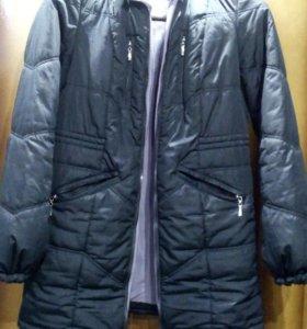 Зимняя слингокуртка для беременных