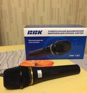 Микрофон универсальный BBK DM-130
