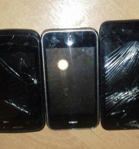 Телефоны на запчасти и детали