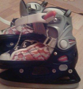 Коньки хоккейные для мальчиков и девочек