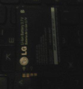 Батарея от телефона LG