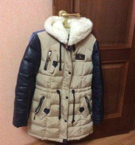 Пальто зимнее женское!