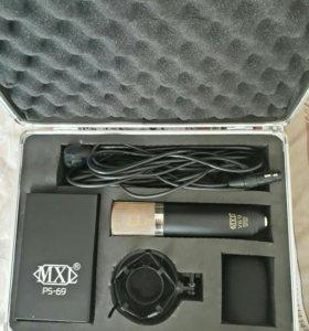 Ламповый микрофон MXL V69 mogami Edition