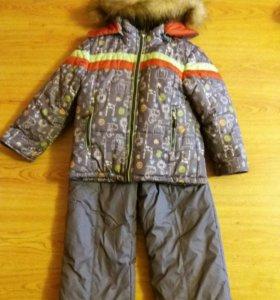 Продам зимний костюм разм.110-116