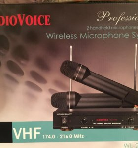 Радиосистема audio voice wl21vm