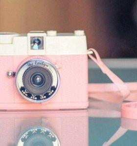 Фотоаппарат (розовый)
