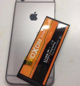 Аккумулятор iPhone 6 с установкой