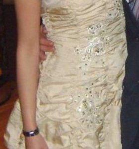 Красивое платье + шубка