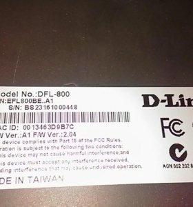 Роутер d-link dfl 800