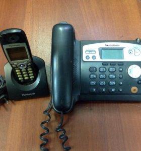 Телефон база и трубка