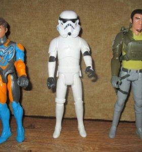 Фигурки Звёздные войны. Новые.