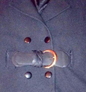 Пальто-перелина букле. Размер 44-46.