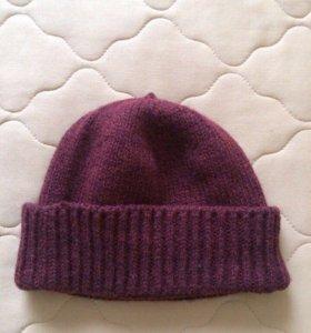 Новая шапка бордового цвета