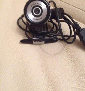 Веб камера D link