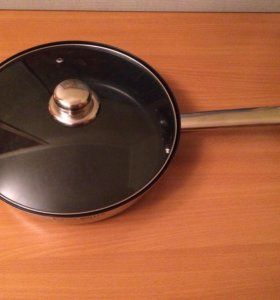 Новая сковорода из нержавеющей стали