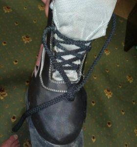 Лыжные ботинки, р.38