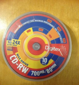 Диски CD-RW (болванки)