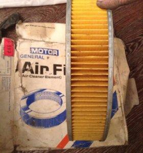 Воздушный фильтр на Nissan