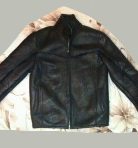 Дубленка-куртка мужская натуральная.