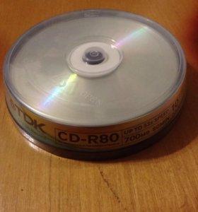 Диски CD-R (болванки)