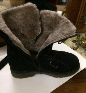 зимние ботинкт
