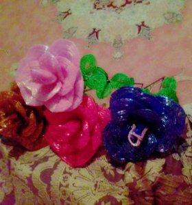 Красивые розы на вазу