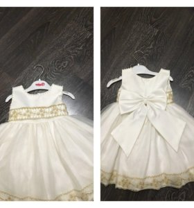 Платье для девочки! Р-р 80-86
