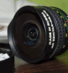 Зенитар М2 8-16 Fish-eye