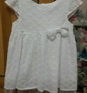 Платье 86см