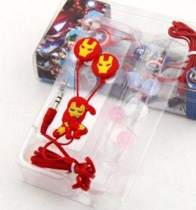 Наушники Супер герои