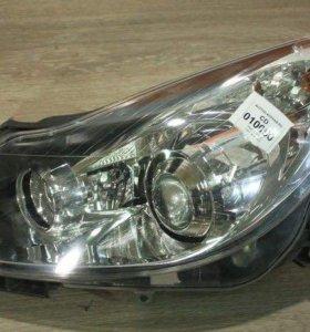Фара L хром линзованный Opel Corsa D опель корса