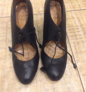 Женские туфли нат кожа терволина