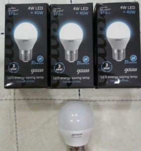 Лампочки светодиодные Gauss