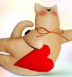 Игрушки ручной работы к дню всех влюблённых