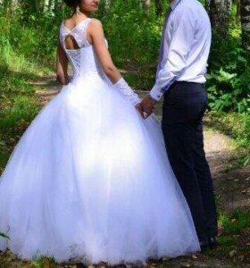 Свадебное платье xs