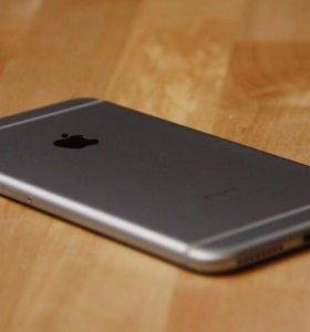 iPhone 6 space grey 16 гб, Ростест