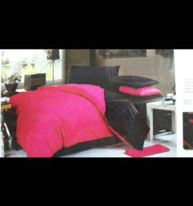 Комплект постельного белья,двуспальное.Сатин