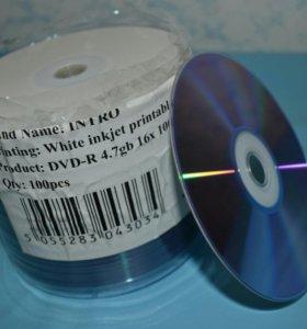 диски DVD-R 4.7 Gb
