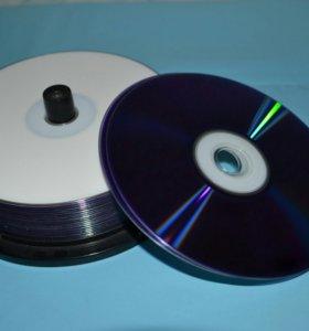 диски DVD-R 8.5 Gb