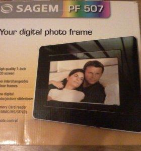Цифровая фоторамка Sagem PF 507 EU