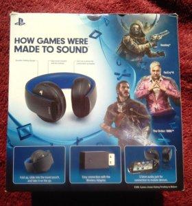 Новые наушники Sony Gold Wireless Stereo Headset