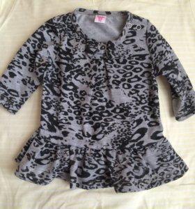 Для малышки платье туника