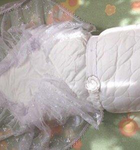 Осень-весна красивый конверт-одеяло на выписку